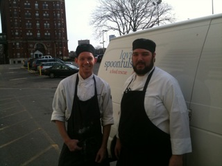Chef Rich & team at Eastern Standard on Thanksgiving Day