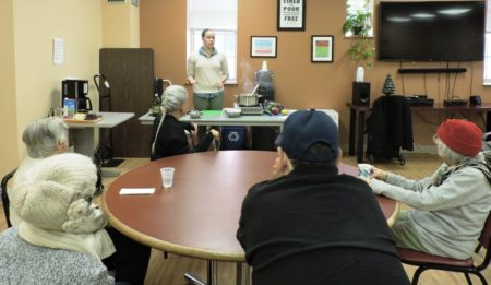 Lovin' Spoonfuls Holds Cooking Demo at Neighborhood Service Center